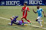 Manchester City vs HKFA U-23 during the Day 3 of the HKFC Citibank Soccer Sevens 2014 on May 25, 2014 at the Hong Kong Football Club in Hong Kong, China. Photo by Victor Fraile / Power Sport Images