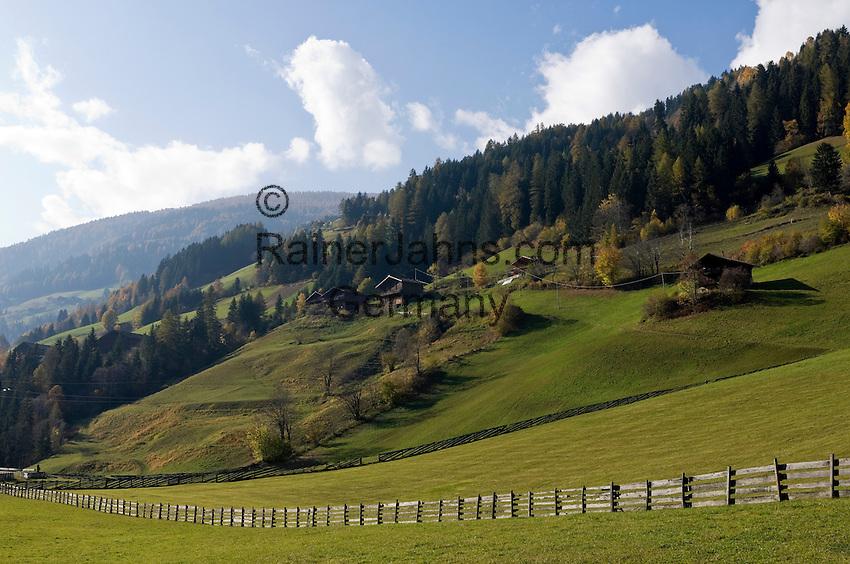 Italy, South Tyrol, Alto Adige, mountain farmhouse at Ulten Valley, italian: Val d'Ultimo