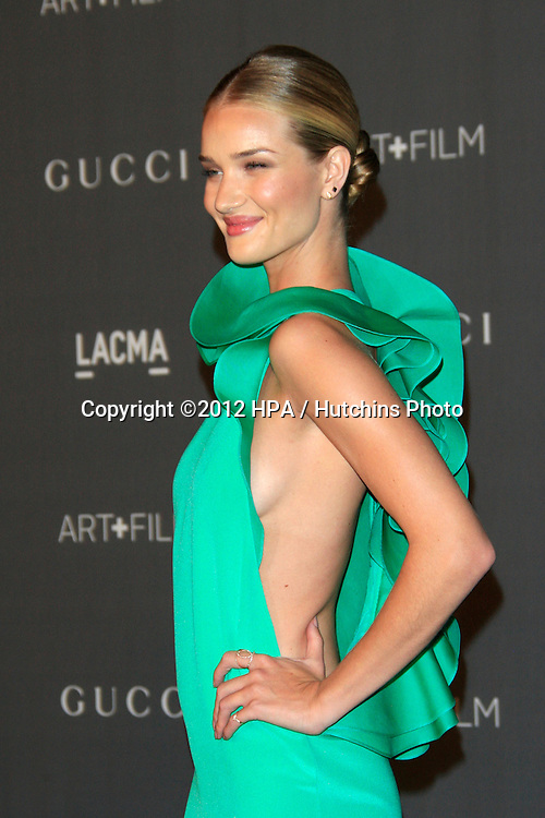 LOS ANGELES - OCT 27:  Rosie Huntington-Whiteley arrives at the LACMA 2012 Art + Film Gala at Los Angeles County Musem of Art on October 27, 2012 in Los Angeles, CA