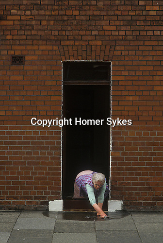 Blackburn, Lancashire.  1980s<br />