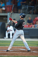 Jake Noll (13) of the Potomac Nationals at bat during the 2018 Carolina League All-Star Classic at Five County Stadium on June 19, 2018 in Zebulon, North Carolina. The South All-Stars defeated the North All-Stars 7-6.  (Brian Westerholt/Four Seam Images)