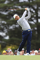 Xander Schauffele (USA) on the 2nd fairway during the Second Round - Foursomes of the Presidents Cup 2019, Royal Melbourne Golf Club, Melbourne, Victoria, Australia. 13/12/2019.<br /> Picture Thos Caffrey / Golffile.ie<br /> <br /> All photo usage must carry mandatory copyright credit (© Golffile | Thos Caffrey)