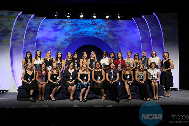 17 OCT 2010: The 2010 NCAA Woman of the year celebration held in Indianapolis, IN.  Stephen Nowalnd/NCAA Photos
