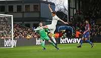 Burnley's Chris Wood just fails to connect with a first half cross<br /> <br /> Photographer Rob Newell/CameraSport<br /> <br /> The Premier League - Saturday 1st December 2018 - Crystal Palace v Burnley - Selhurst Park - London<br /> <br /> World Copyright &copy; 2018 CameraSport. All rights reserved. 43 Linden Ave. Countesthorpe. Leicester. England. LE8 5PG - Tel: +44 (0) 116 277 4147 - admin@camerasport.com - www.camerasport.com