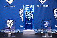 STANFORD, CA - March 7, 2020: 2020 Pac-12 Wrestling Championships at Maples Pavilion.