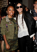 www.acepixs.com<br /> <br /> September 12 2017, New York City<br /> <br /> Skai Jackson (L) and Demi Moore at the Alice + Olivia By Stacey Bendet fashion, New York Fashion Week: The Shows at Gallery 2, Skylight Clarkson Sq on September 12, 2017 in New York City.<br /> <br /> By Line: Nancy Rivera/ACE Pictures<br /> <br /> <br /> ACE Pictures Inc<br /> Tel: 6467670430<br /> Email: info@acepixs.com<br /> www.acepixs.com