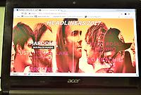 AMPARO,SP - 06.04.2017 - ROCK IN RIO-INGRESSOS - Teve início na noite desta quinta-feira(06), a venda de ingressos, pela internet, para o festival Rock In Rio 2017, que será realizado na cidade do Rio de Janeiro, no próximo mês de Setembro. Shows do Marron 5 e dos Guns n´ Roses, já estão esgotados. (Foto: Eduardo Carmim /Brazil Photo Press)