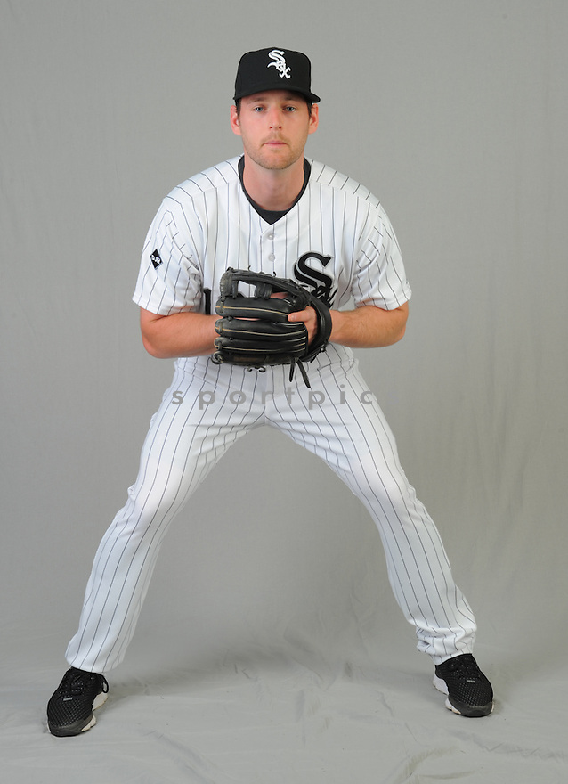 Chicago White Sox Conor Gillaspie (12) during photo day on February 28, 2015 in Glendale, AZ.