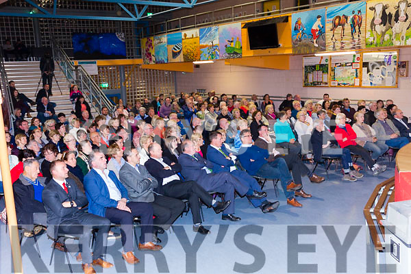 A full house at Colaiste na Sceilge on Tuesday night for The Pope's Astronomer, Bro. Guy Consolmagno, S.J., Director of the Vatican Observatory.