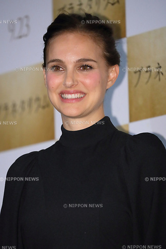 Actress Natalie Portman attends the Japan premiere <br /> for her movie &quot;Planetarium&quot; in Shinjuku, Tokyo, Japan <br /> on July 20, 2017. (Photo by Naoki Nishimura/AFLO).