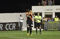 MOGI MIRIM, SP, 04 de MAIO 2013 -Rafael goleiro do Santos  em penaltes durante a Semifinal Mogi Mirim x Santos no Estadio Romildo Vitor Gomes Ferreira (Romildao) em Mogi Mirim  (FOTO: ADRIANO LIMA / BRAZIL PHOTO PRESS).