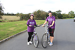 Valerie and Sandra, who will take part in a cycle challenge in Cuba..Picture: Shane Maguire / www.newsfile.ie