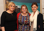 Michelle Herbert, Newcastlewest, Anita Cremin and AnneMarie Ring, Killarney, at The Cloisters Spa in The Muckross Park Hotel, Killarney first open evening of 2012 . Picture: Don MacMonagle.