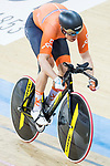 Theo Bos of the Netherlands competes in the Men's Kilometre TT - Qualifying during the 2017 UCI Track Cycling World Championships on 16 April 2017, in Hong Kong Velodrome, Hong Kong, China. Photo by Chris Wong / Power Sport Images