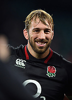 Chris Robshaw of England looks on after the match. Old Mutual Wealth Series International match between England and Argentina on November 11, 2017 at Twickenham Stadium in London, England. Photo by: Patrick Khachfe / Onside Images
