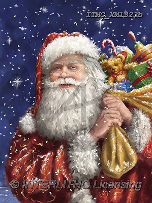Marcello, CHRISTMAS SANTA, SNOWMAN, WEIHNACHTSMÄNNER, SCHNEEMÄNNER, PAPÁ NOEL, MUÑECOS DE NIEVE, paintings+++++,ITMCXM1323B,#X#