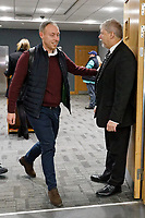 Swansea City manager Steve Cooper arrives prior to the game during the Sky Bet Championship match between Swansea City and Wigan Athletic at the Liberty Stadium, Swansea, Wales, UK. Saturday 19 January 2020