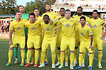 02 May 2015: Tampa Bay's starters. Front row (left to right): Corey Hertzog, Georgi Hristov (BUL), Darnell King, Zak Boggs, Martin Nunez (URU). Back row (left to right): Matt Pickens, Ben Sweat, Stefan Antonijevic (SRB), Tamika Mkandawire (ENG), Maicon Santos (BRA), Marcelo Saragosa (BRA). The Carolina RailHawks hosted the Tampa Bay Rowdies at WakeMed Stadium in Cary, North Carolina in a North American Soccer League 2015 Spring Season match. The game ended in a 1-1 tie.