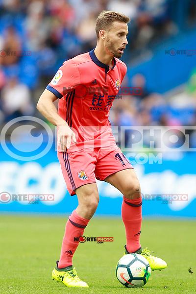 Real Sociedad's Sergio Canales during La Liga match. September 10,2017. (ALTERPHOTOS/Acero) /NortePhoto.com