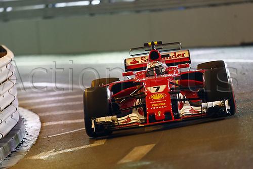 May 28th 2017, Monaco; F1 Grand Prix of Monaco Race Day; FIA Formula One World Championship 2017, Grand Prix of Monaco, <br /> #7 Kimi Raikkonen (FIN, Scuderia Ferrari)