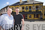 Kevin Cotter and Ferghal Kirby (pictured) and Fiona Kirby directors of Cotter food and Catering have purchased the Brogue Inn and plan to reopen in July.