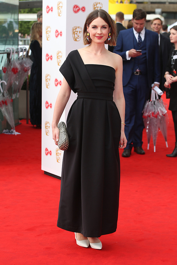 Jessica Raine<br />  arriving at the Bafta Tv awards 2017. Royal Festival Hall,London  <br /> ©Ash Knotek