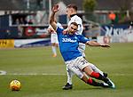 09.12.2018 Dundee v Rangers: Eros Grezda felled in the box