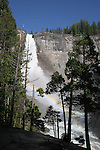Nevada Fall with rainbow