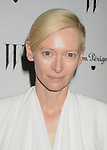 LOS ANGELES, CA - JANUARY 13: Tilda Swinton arrives at the W Magazine's celebration of the 69th Annual Golden Globe Awards at the Chateau Marmont Hotel on January 13, 2012 in Los Angeles, California.