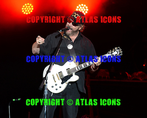 WEST PALM BEACH, FL - AUGUST 06: Hank Williams Jr performs at The Perfect Vodka Amphitheater on August 6, 2016 in West Palm Beach Florida. Credit Larry Marano © 2016