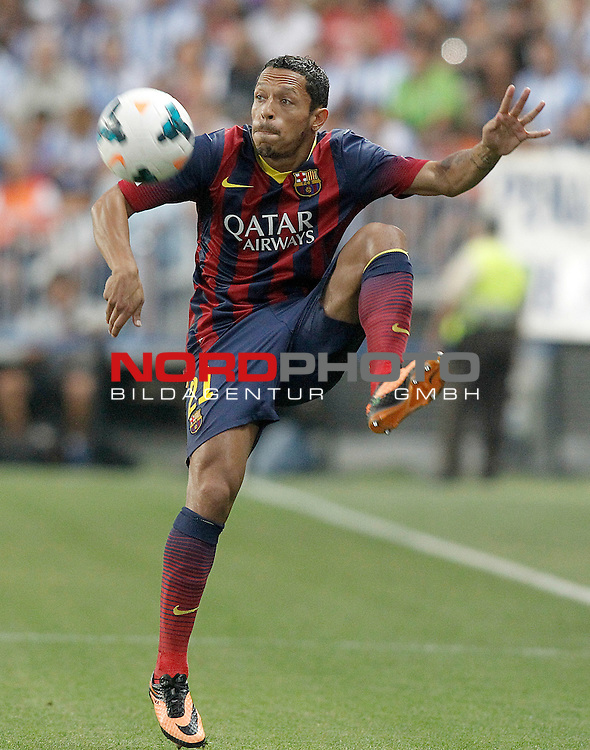 FC Barcelona's Adriano Correia during La Liga match.August 25,2013. Foto © nph / Acero)