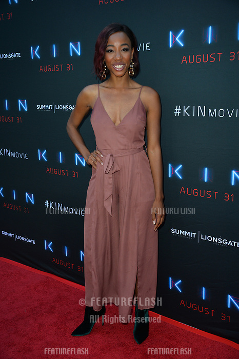 """LOS ANGELES, CA. August 29, 2018: Charmaine Bingwa  at the premiere of """"KIN"""" at the Arclight Theatre, Hollywood."""