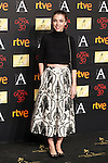 Leticia Dolera attends the 2016 Goya Nominee party in Madrid, Spain. January 26, 2015. (ALTERPHOTOS/Victor Blanco)
