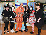 The staff of Specsavers Sally Ann Gregory, Sarah Lawless, David McCloskey, Emma Friel, Emma Gorman and Jane Walsh dressed up for Halloween to raise money for Crumlin Childrens hospital. . Photo:Colin Bell/pressphotos.ie