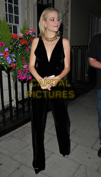 Victoria Louise &quot;Pixie&quot; Lott departs from the stage door after the &quot;Breakfast at Tiffany's&quot; evening performance, Theatre Royal Haymarket, Suffolk Street, London, England, UK, on Monday 25 July 2016.<br /> CAP/CAN<br /> &copy;CAN/Capital Pictures