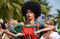 RIO DE JANEIRO, RJ, 29.07.2018 - MARCHA-RJ - IV Marcha das mulheres negras pelo fim do racismo, pelo fim do genocídio posto 04, Copacabana, zona sul do Rio de Janeiro nesta domingo, 29. (Foto: Vanessa Ataliba/Brazil Photo Press)