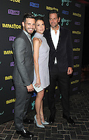 NEW YORK, NY - SEPTEMBER 27: Nico Tortorella and Sutton Foster and Peter Hermann from the cast of 'Younger'  attends the 'Younger' Season 3 and 'Impastor' Season 2 New York premiere party at Vandal on September 27, 2016 in New York City.   Photo Credit: John Palmer/MediaPunch