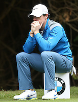 Rory Mcilroy not looking in the best of moods - PGA European Tour Golf at Wentworth, Surrey 23/05/14 - MANDATORY CREDIT: Rob Newell/TGSPHOTO - Self billing applies where appropriate - 0845 094 6026 - contact@tgsphoto.co.uk - NO UNPAID USE