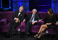 """BEVERLY HILLS - SEPTEMBER 7: Alec Baldwin, Robert De Niro, and Caitlyn Jenner appear onstage at the """"Comedy Central Roast of Alec Baldwin"""" at the Saban Theatre on September 7, 2019 in Beverly Hills, California. (Photo by Frank Micelotta/PictureGroup)"""