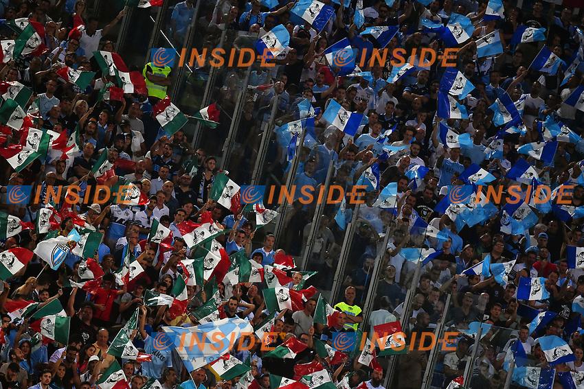 Tifosi Lazio Supporters <br /> Roma 13-08-2017 Stadio Olimpico <br /> Juventus - Lazio Football Italian Supercup - Supercoppa Italiana <br /> Foto Andrea Staccioli Insidefoto