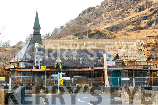Derrycunnihy Church on the Moll's Gap road is undergoing a €260K facelift.