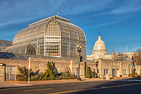 US Botanic Garden Washington DC Architecture