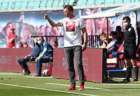 16th May 2020, Red Bull Arena, Leipzig, Germany; Bundesliga football, Leipzig versus FC Freiburg; trainer Julian Nagelsmann RBL in Action