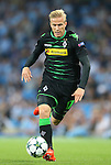 Oscar Wendt of Borussia Monchengladbach during the UEFA Champions League Group C match at The Etihad Stadium, Manchester. Picture date: September 14th, 2016. Pic Simon Bellis/Sportimage