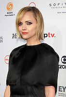 NEW YORK, NY November 21:Christina Ricci  at 2016 International Emmy Awards  at the New York Hilton in New York City.November 21, 2016. Credit:RW/MediaPunch