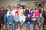 NIFTY FIFTY: Donal Courtney, Ashgrove, Tralee (seated 3rd left) had a smashing time celebrating his 50th birthday last Saturday night in the Kerin's O'Rahilly's GAA clubhouse, Strand Rd, Tralee with many friends and family.