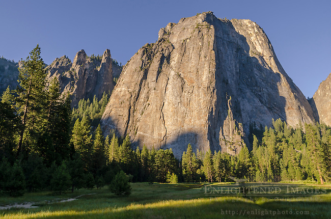Cathedral Rocks, Yosemite Valley, Yosemite National Park, California