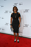 "Gayle King arrives at the Clive Davis: ""The Soundtrack Of Our Lives"" world premiere for the Opening Night of the 2017 TriBeCa Film Festival on April 19, 2017 at Radio City Music Hall."