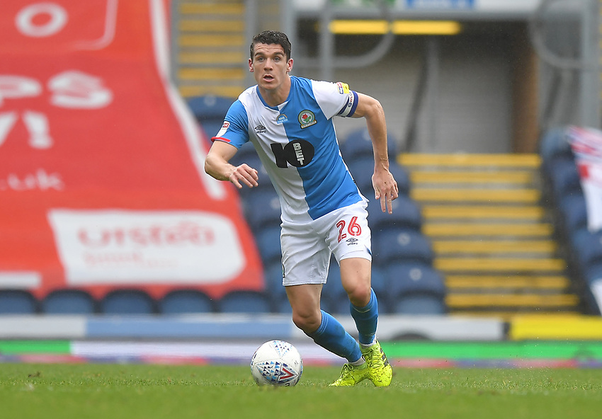 Blackburn Rovers' Darragh Lenihan<br /> <br /> Photographer Dave Howarth/CameraSport<br /> <br /> The EFL Sky Bet Championship - Blackburn Rovers v Reading - Saturday 18th July 2020 - Ewood Park - Blackburn<br /> <br /> World Copyright © 2020 CameraSport. All rights reserved. 43 Linden Ave. Countesthorpe. Leicester. England. LE8 5PG - Tel: +44 (0) 116 277 4147 - admin@camerasport.com - www.camerasport.com