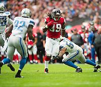 26.10.2014.  London, England.  NFL International Series. Atlanta Falcons versus Detroit Lions. Falcons' RB Steven Jackson [39] in action.